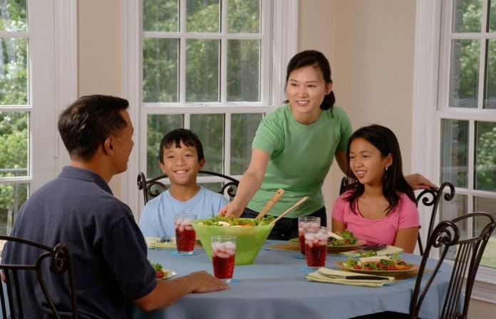 Family Dinner During Quarantine