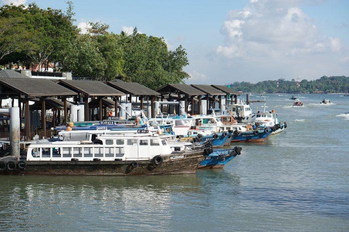 Singapore ferry on redBus, Malaysia