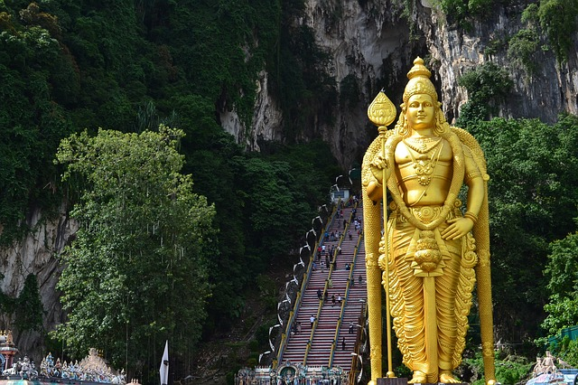 Batu Caves, must-visit and photogenic place in Malaysia