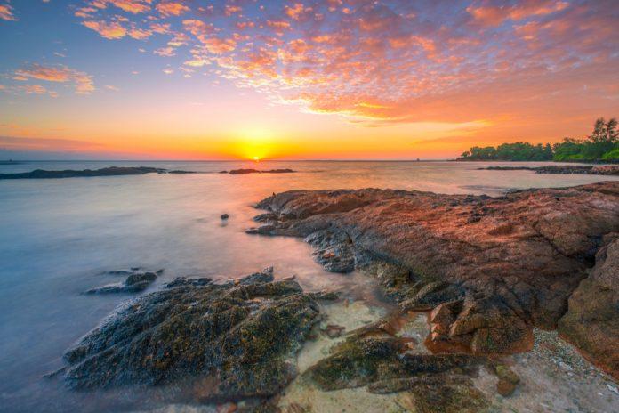 Sunrise in Batam