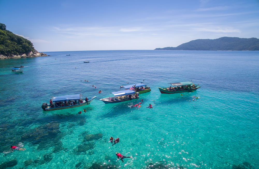 Visit the Perhentian Islands when you are in Kuala Terengganu
